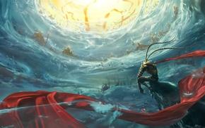 Sun Wukong, fabric, Monkey King, fantasy art