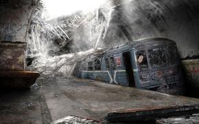 abandoned, destruction, apocalyptic