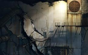 abandoned, Portal 2, destruction, apocalyptic