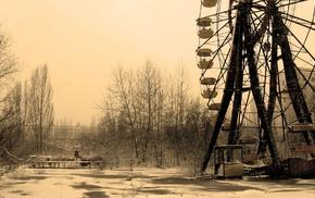 apocalyptic, abandoned, Ukraine, Pripyat