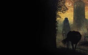 creepy, Zdzisaw Beksiski, spooky, wolf