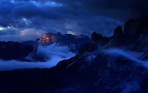 Italy, Dolomites mountains