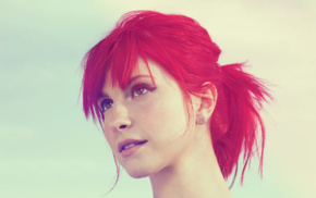 freckles, redhead, singer, girl, face, dyed hair
