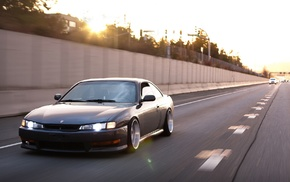 JDM, Silvia S14, Kouki, Nissan, tuning, car