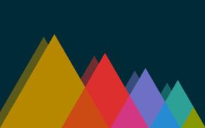 solarized colorscheme, minimalism, triangle