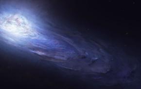 Starkiteckt, Andromeda, space, artwork, stars, space art