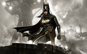 Batman, Batgirl, Rocksteady Studios, Batman Arkham Knight