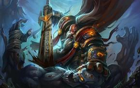 dwarfs, World of Warcraft, Paladin