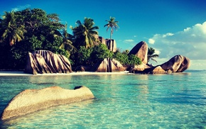 holiday, nature, sea, rock, landscape