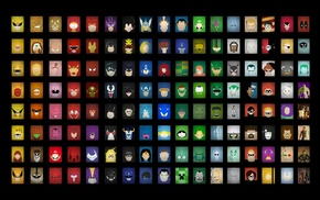 DC Comics, Marvel Comics, Teenage Mutant Ninja Turtles, Super Mario, The Incredibles, Powerpuff Girls