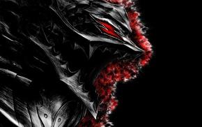 Kentaro Miura, digital art, Guts, artwork, Berserk