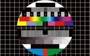 colorful, test patterns, digital art, numbers, grid, circle
