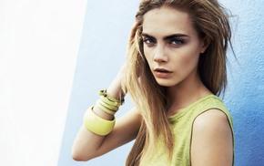 actress, celebrity, model, girl, Cara Delevingne, blonde