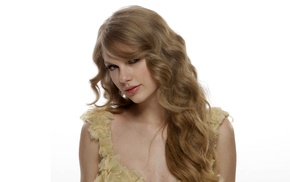 celebrity, girl, simple background, singer, Taylor Swift