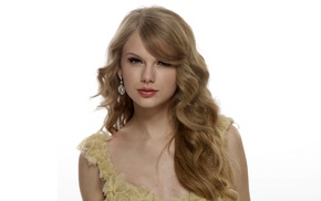 Taylor Swift, singer, celebrity, simple background, girl