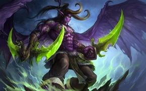fan art, Illidan Stormrage, World of Warcraft