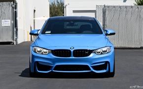 blue cars, M4, BMW, car