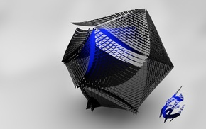 geometry, Cinema 4D, abstract