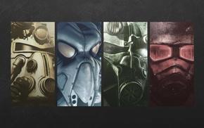Fallout, video games, Fallout 3, Fallout New Vegas, Fallout 2
