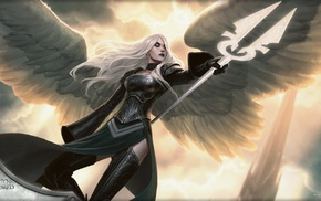 angel, fantasy art, Magic The Gathering
