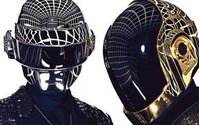 robot, Daft Punk, helmet, music