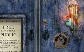 Doctor Who, TARDIS, science fiction, digital art, fan art, artwork