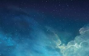 stars, clouds, sky