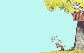 Calvin and Hobbes, minimalism