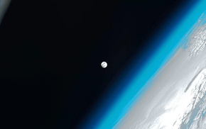 moon, space