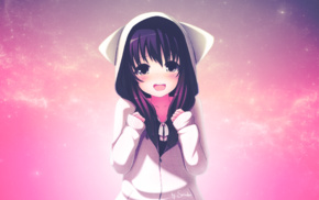 manga, anime, original characters, blushing, anime girls