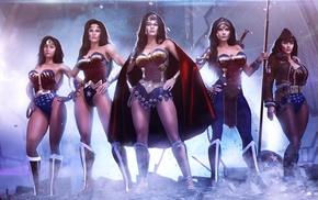 Wonder Woman, artwork, DC Comics