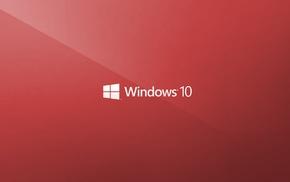 minimalism, window, Windows 10, logo
