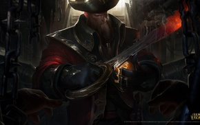 pirates, PC gaming, Gangplank, League of Legends