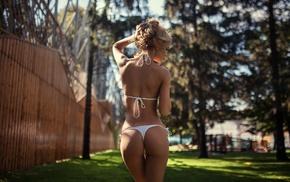 Ekaterina Zueva, ass, bikini, model, girl, back