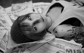 girl, Life Is Strange, face, cosplay