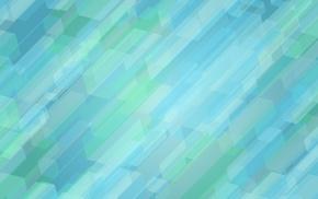 abstract, blue, hexagon