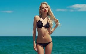 model, bikini, girl, blonde