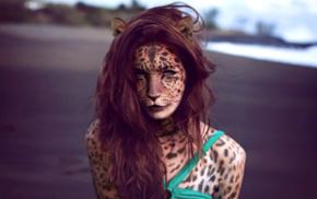 edited, girl, furry