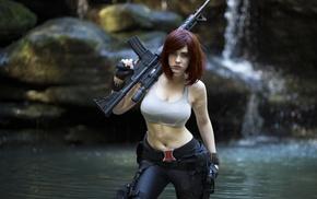 girl, model, cosplay