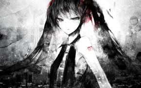 Hatsune Miku, anime girls, Vocaloid