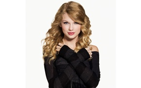 celebrity, girl, singer, Taylor Swift, simple background
