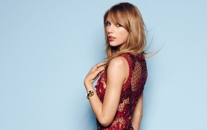 dress, Taylor Swift, singer, girl, simple background, celebrity