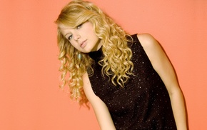 simple background, girl, singer, celebrity, Taylor Swift