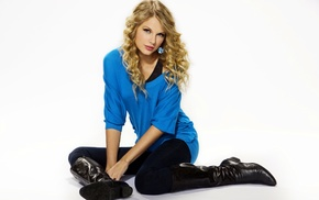celebrity, singer, girl, simple background, Taylor Swift