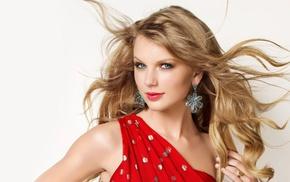 simple background, celebrity, singer, Taylor Swift, girl