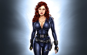 Black Widow, artwork
