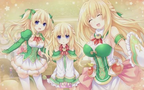 anime, Hyperdimension Neptunia, anime girls, Vert Hyperdimension Neptunia