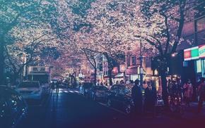 street light, filter, lights, street, city, Japan