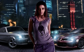 vehicle, car, Need for Speed, Emmanuelle Vaugier, video games, Need for Speed Carbon