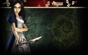 Alice in Wonderland, Alice Madness Returns, Alice, video games